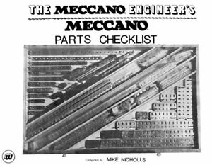 Meccano Parts Checklist