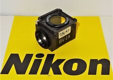 Nikon Bv 1a Fluorescent Microscope Filter Cube For Labophot Optiphot Microphot