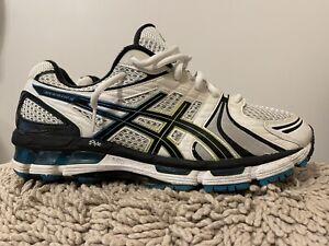 Asics Gel Kayano 18, Lightning/Flame/Black, T200N, Mens Running Shoes, Size 12