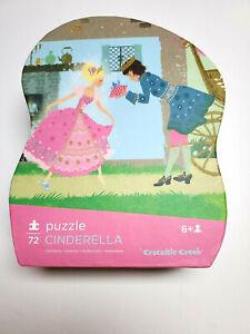 Crocodile Creek Cinderella 72 Piece Puzzle Prince Glass Slipper Easy Pick Up