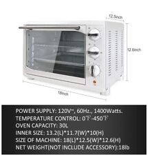 King Chef Convection Countertop Toaster Oven White
