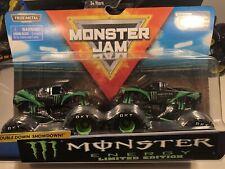 Monster Jam Duo CUSTOM TODD LEDUC & COTY SAUCIER Monster Truck 2 Pack CUSTOM