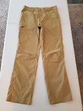 Men's Eddie Bauer Hiking Trail Pants Size 32W X 32L Beige