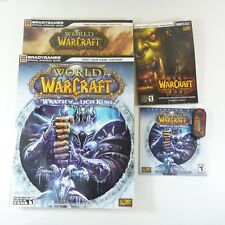 Lot World of Warcraft Wrath Lich King Expansion Set Book 2 Other Books Digipass