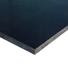 Black HDPE Plastic Sheet 3/16
