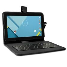 """Craig CMP828 9"""" Touch 8GB Android Tablet w/ Cams Keyboard Case Bundle - Black"""