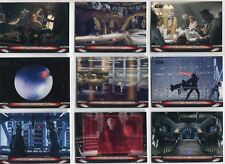 Star Wars Galactic Files 2018 Complete Locations Chase Card Set L1-10