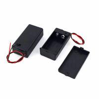 9V Batteriehalter Akku Halter Batteriegehäuse mit ON/OFF Schalter Akkuhalter Neu