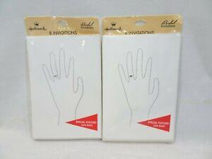 HALLMARK Bridal Invitations Shower Wedding LOT 16 Cards Envelopes NEW
