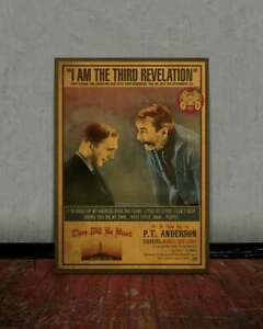 There will be blood, Daniel Day Lewis, Retro movie poster