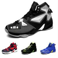 Basketball Shoes Men High Top Sport Casuals Sneaker Trail Athletic Breathable Sz