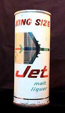 JET MALT LIQUOR HALF QUART EARLY 1960'S - 16OZ ZIP TAB CAN - WESTMINSTER CHICAGO