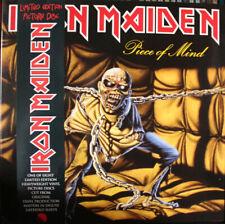 Iron Maiden – Piece Of Mind on Picture Disc Vinyl LP EMI 2012 NEW/SEALED