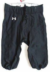 Under Armour Big Boys/Youth Size L College Park Football Pants Black NO PADS