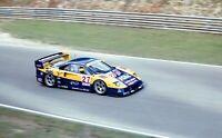 FERRARI F40 GTE MICHELOTTO OLOFSSON NOCE BPR PHOTOGRAPH BRANDS HATCH 1996 IGOL
