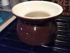 Vintage China Porcelain Ladies Cuspidor Spittoon brown