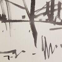 JOSE TRUJILLO Art MODERNISM ABSTRACT EXPRESSIONISM INK WASH Landscape Minimalism