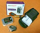 NatureSpirit Pulse Oximeter with Bluetooth and Case