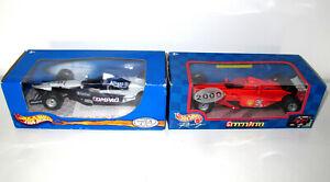 Mattel Hot Wheels F1 1:24 Bundle - Mercedes McLaren ,Ferrari - Good Condition