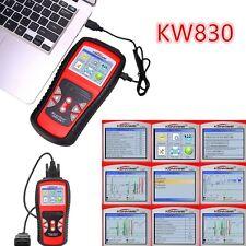 Car Fault Code Reader Engine Diagnostic Scanner Reset Tool OBDII Universal KW830