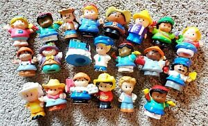 Lot of 21 Little People Figures - People - Free shipping