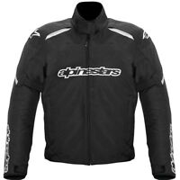 Alpinestars Gunner Waterproof Motorbike Motorcycle Jacket Black