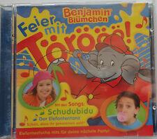 Benjamin Blümchen CD Feier mit Törööö! - Hits für deine nächste Party (2007)