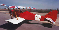 Giant 1/3 Scale Fly Baby Biplane Plans, Templates, Instructions