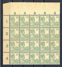 NED INDIE # 120 (20 x) KW € 300  ** MNH PF TROPISCH  TROPIC STAINS