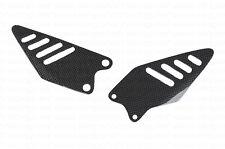 (2009-2016) Kawasaki Ninja ZX6R ZX6 R Heel Foot Guard Plate Carbon Fiber Fibre