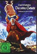 DVD * DIE ZEHN ( 10 )  GEBOTE - Charlton Heston # NEU OVP +