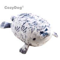 Gray Blob Seal Pillow Animal Doll Plush Toy Soft Stuffed Plushie Xmas Gift 8''