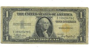 1935 A North Africa WWII Emergency Issue $1 Silver Certificate F2306 180961p