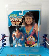 WWF Hasbro MARTY JANNETTY 1994 Series 10 DARK BLUE 6 Back Card US/English C-9