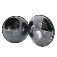 "2x 7"" inch LED Headlight for Jeep Wrangler JK Headlight For LAND ROVER DEFENDER"