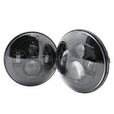 """2x 7"""" inch LED Headlight for Jeep Wrangler JK Headlight For LAND ROVER DEFENDER"""