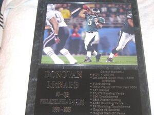 Donovan McNabb - Philadelphia Eagles statistics plaque - New Lower Pricing!!