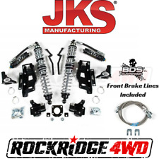 "JKS Jeep Wrangler JK 07-11 Front FOX Coilovers w DSC & Bracket Kit for 2.5"" Lift"
