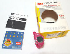 Mio Motiva Heart Rate Monitor Watch Pink EKG Accurate