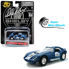 Shelby Collectibles 1:64 - 1965 Shelby Cobra Daytona Coupe #26 (Blue) - Diecast