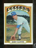 1972 Topps BOBBY VALENTINE #11 Los Angeles Dodgers NRMT or better (JU26)