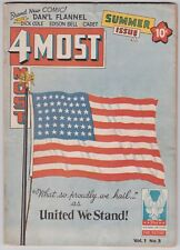 4Most Vol 1 #3 G+ 2.5 Dick Cole Edison Bell 1946!