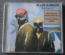 Black Sabbath, never say die, CD
