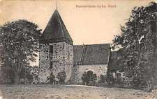 Hammarlands Aland Kyrka Church Exterior View Antique Postcard J67907
