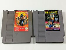 Ninja Gaiden 1 & 2 for Original Nintendo NES System Console *TESTED & CLEANED*