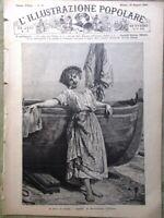 L'illustrazione Popolare 30 Maggio 1886 Leggenda Ghiacciaio Morteratsch Pozzuoli
