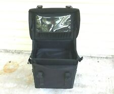 "SORISE Professional Cosmetic Case Beauty Black Trolley Makeup Bag 17"" x 15"" x 11"