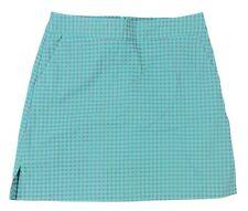 Lady Hagen - NWT Women's Green-Blue Slate Gingham Golf Skort - Sizes: 0, 2, 4, 6