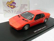 """Schuco ProR 08981 # BMW Turbo X1 Studie Baujahr 1972 in """" orange """" 1:43  NEU"""