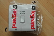 legrand Synergy 7301 16 20A DP Switch + cord + power white marked water heater